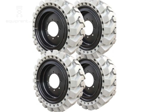 33x12x20 (12-16.5) Grey Traction Skidsteer Tire & Wheel Assembly for Genie 5519 (Sold in Sets of 4)