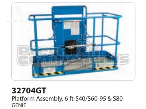 Genie Platform Assembly, 6FT-S40/S60-95 & S80, Part #32704