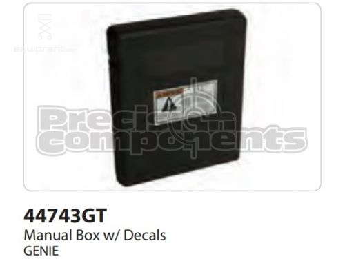 Genie Manual Box w/ Decals, Part #44743