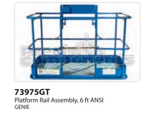Genie Platform Rail Assy, 6FT ANSI, Part 73975