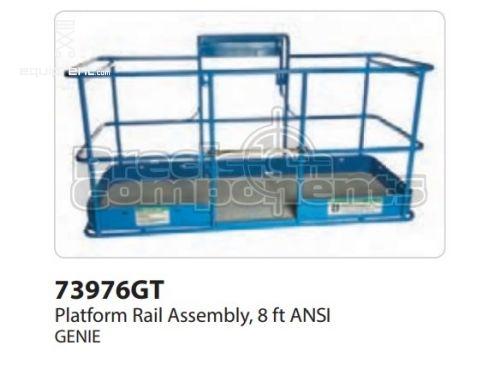 Genie Platform Rail Assy, 8 ft ANSI, Part #73976