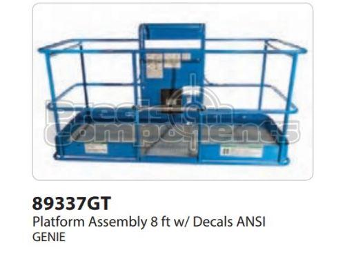 Genie Platform Assy 8ft w/ Decals ANSI, Part 89337