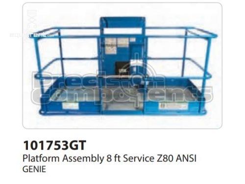Genie Plat. Assy ,8 FT, Serv, Z80 ANSI, Part #101753