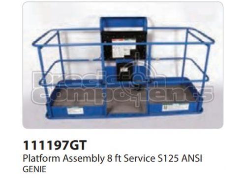 Genie Platform Assy, 8ft, SERV, S125, ANSI, Part 111197