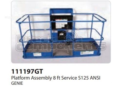 Genie Platform Assy, 8ft, SERV, S125, ANSI, Part #111197