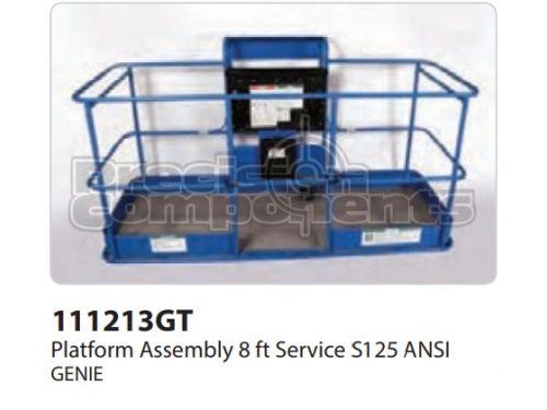 Genie Platform Assy 8 FT SVC S125 ANSI, Part 111213