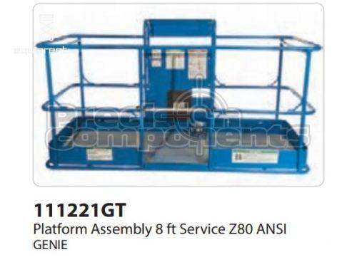 Genie Plat. Assy, 8 FT, Serv, Z80 ANSI, Part #111221