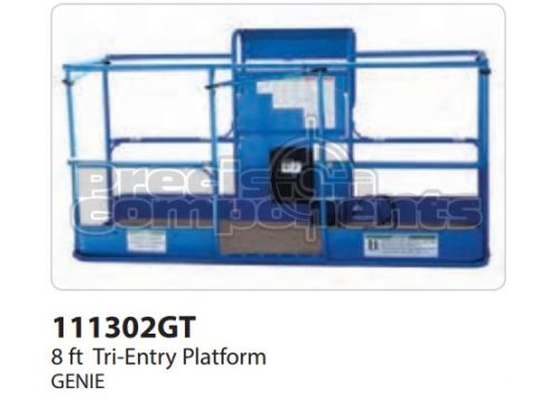 Genie 8' Tri-Entry Platform Assembly with Decals ANSI - Part Number 111302
