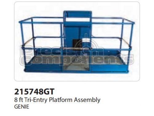 Genie Platform Assembly Tri Entry, 8' - Part Number 215748