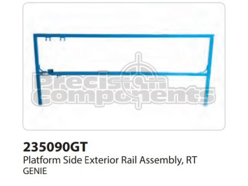 Genie Plat Side Ext Rail Assy, Rt, Part 235090