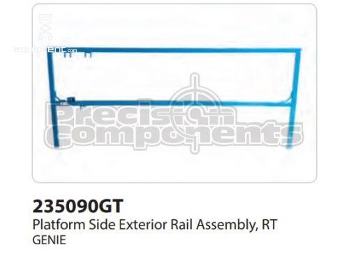 Genie Plat Side Ext Rail Assy, Rt, Part #235090