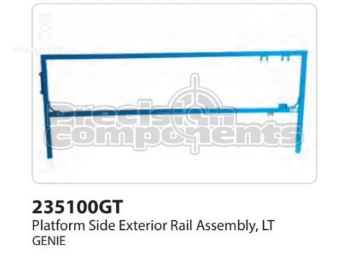 Genie Plat Side Ext Rail Assy, Lt, Part #235100