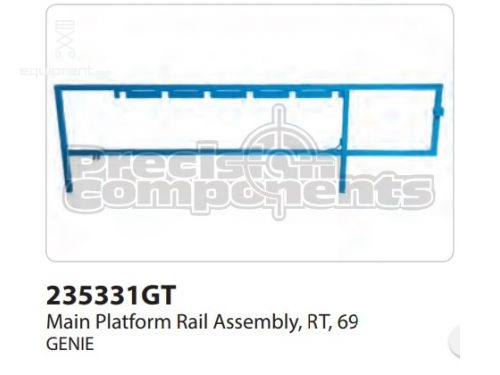 Genie Main Rail Assy, Rt, 69, Part #235331