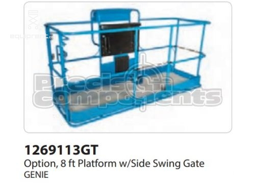 Genie Option, 8' Platform w/Side Swing Gate, Part #1269113