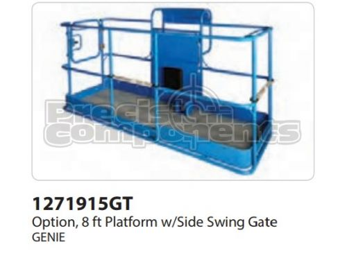 Genie Option, 8' Platform with Side Swing Gate - Part Number 1271915