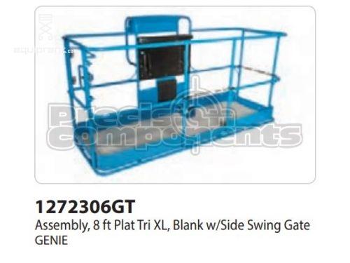 Genie Assy, 8Ft Plat Tri XL, Blank w/Side Swing Gate, Part #1272306