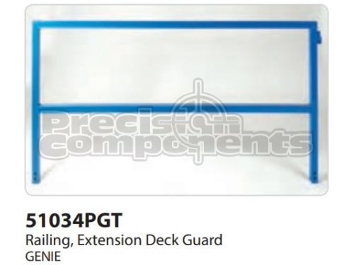 Genie Railing, Ext Deck GRD Control, 68, Part 51034P