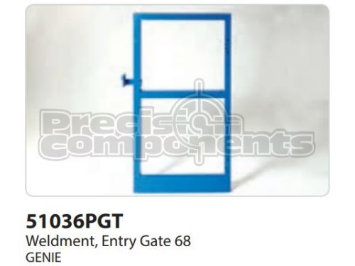 Genie Weldment, Entry Gate 68, Part 51036P