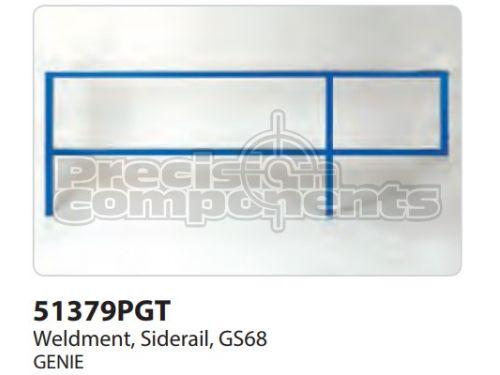 Genie Weldment, Siderail GS68 - Part Number 51379P