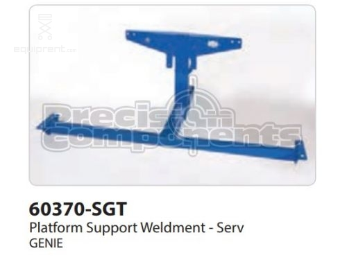 Genie Platform Support Weldment -Serv, Part #60370-S