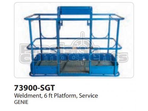 Genie Weldment, 6 FT Platform, Service, Part 73900-S