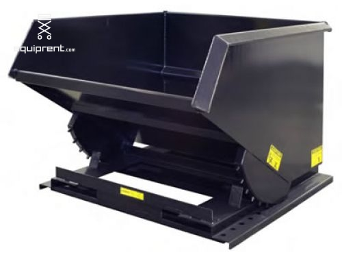 Trash Hopper Attachment - 2 yd Capacity