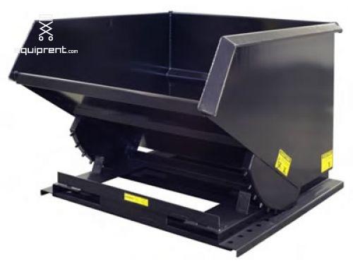 Trash Hopper Attachment - 2.5 yd Capacity