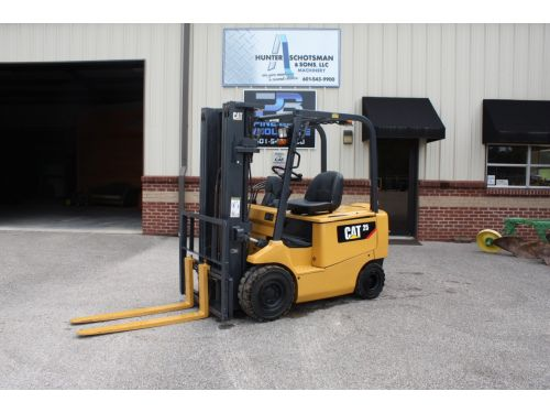 2013 CAT EP25TCA Electric Forklift