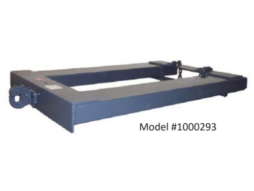 Heavy Duty Trailer Spotter with Pintle Hitch - Extended Reach