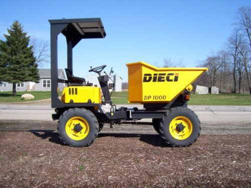 Never Used 2014 Dieci DP1000T Site Dumper