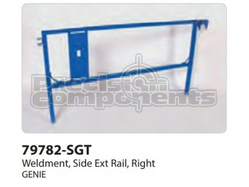 Genie Weldment, Side Extension Rail Right - Part Number 79782-S