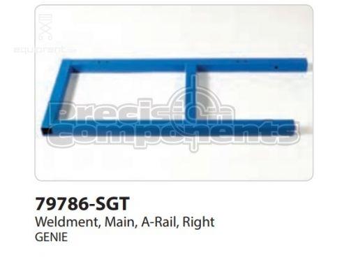 Genie Weldment, Main, A-Rail, Right, Part #79786-S