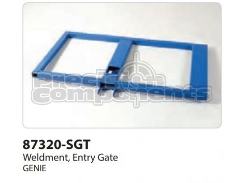 Genie Weldment, Entry Gate, Part 87320-S