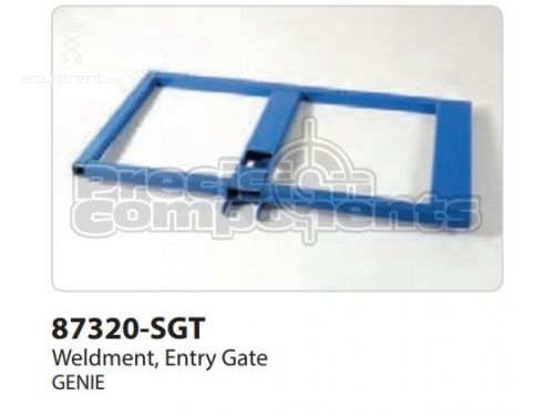 Genie Weldment, Entry Gate, Part #87320-S