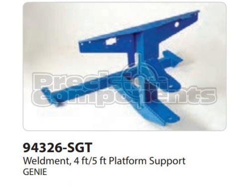 Genie Weldment, 4/5FT Platform Support - Part Number 94326-S