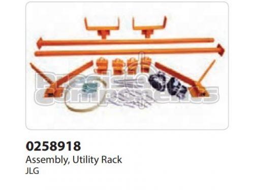 JLG Assembly, Utility Rack - Part Number 0258918