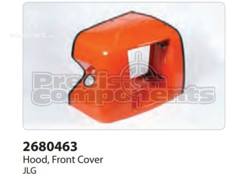 JLG Hood, Front Cover 400S, Part #2680463