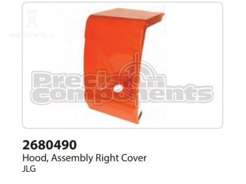 JLG Hood, Assy, Right Cover, Part #2680490