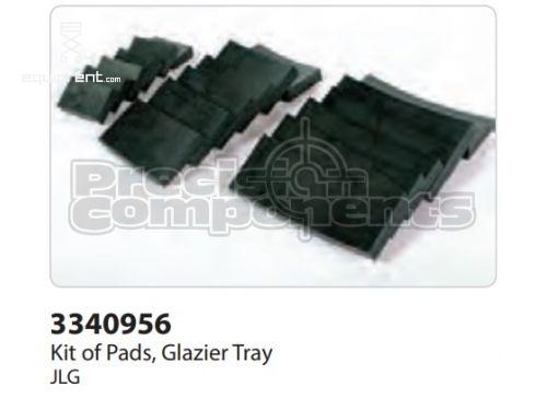 JLG Kit of Pads, Glazier Tray, Part #3340956