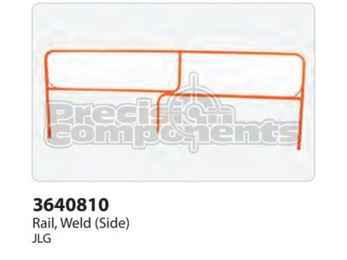 JLG Rail, Weldment (Side) - Part Number 3640810