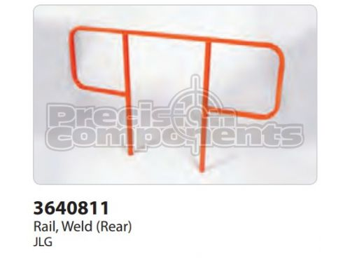 JLG Rail, Weldment (Rear) - Part Number 3640811