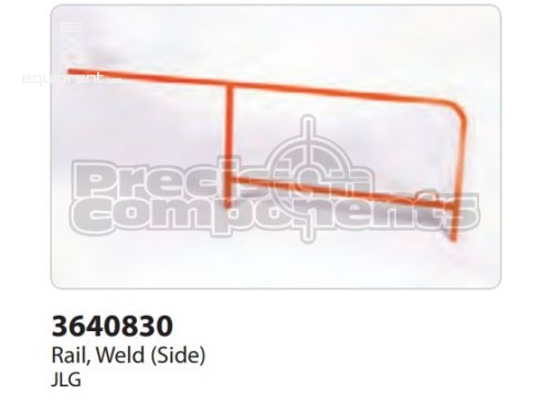 JLG Rail, Weld (Side), Part #3640830