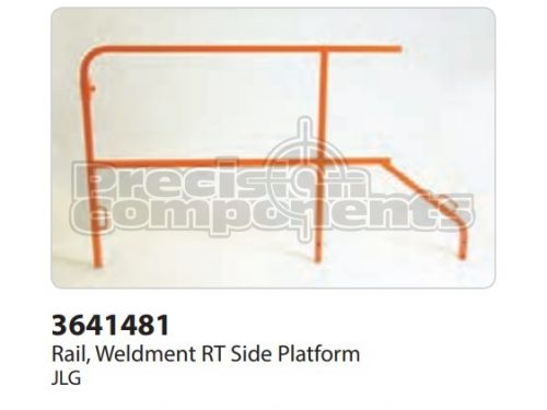 JLG Rail, Weldment RT Side Platform - Part Number 3641481