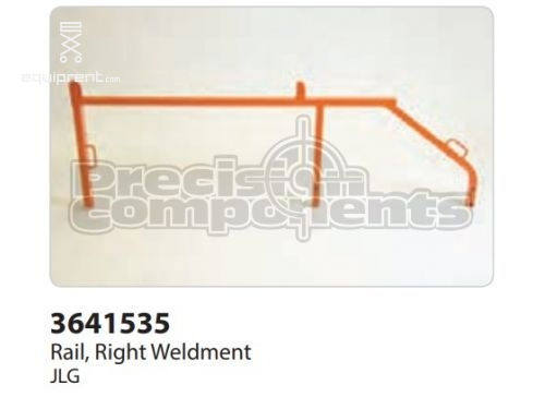 JLG Rail, Right Weldment, Part #3641535