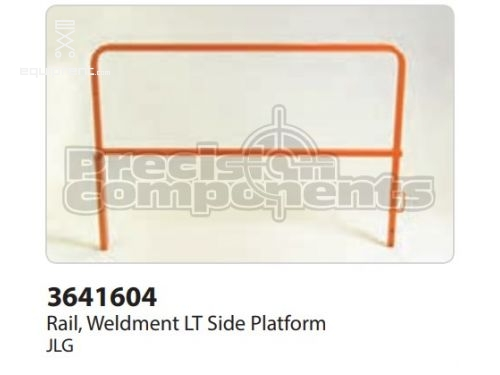 JLG Rail, Weldment Lt Side Platform, Part #3641604