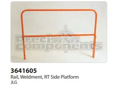 JLG Rail, Weldment, RT Side Platform - Part Number 3641605
