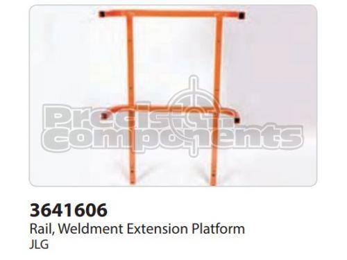 JLG Rail, Weldment Extension Platform - Part Number 3641606