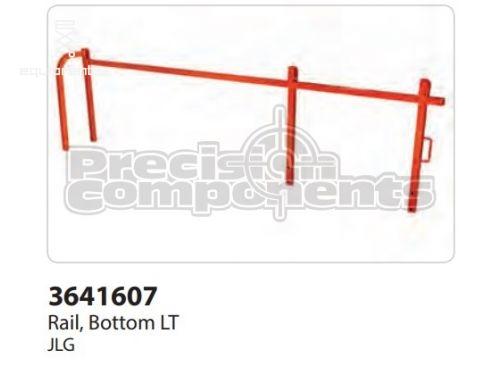 JLG Rail, Bottom LT, Part #3641607