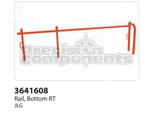 JLG Rail, Bottom RH, Part #3641608