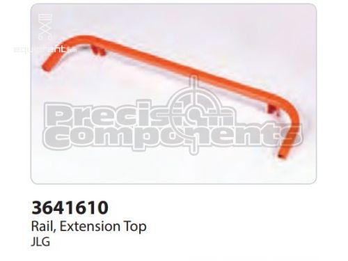 JLG Rail, Extension Top, Part #3641610